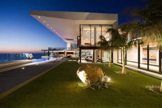 Dream House With Stylish Int And Underground Cinema