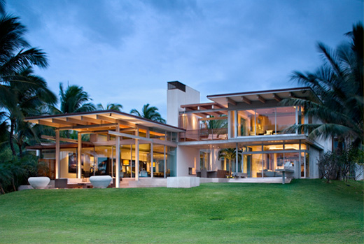 Dream Tropical House Design In Maui By Pete Bossley: home design dream house