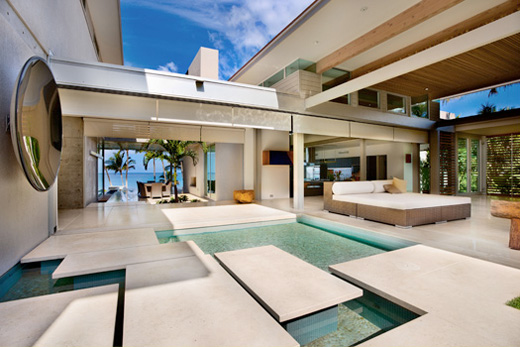 Modern dream tropical house design in maui future dream for Modern tropical house design