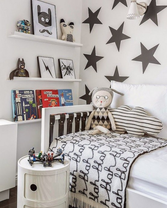 Kids Room Decor: 31 Dreamy And Soft Scandinavian Kids Rooms Décor Ideas