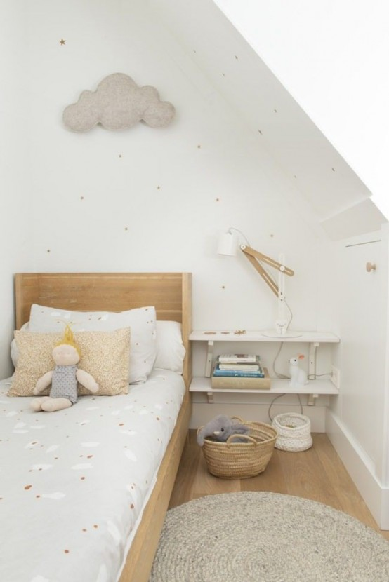 dreamy and soft scandinavian kids room decor ideas - Kids Room Decor