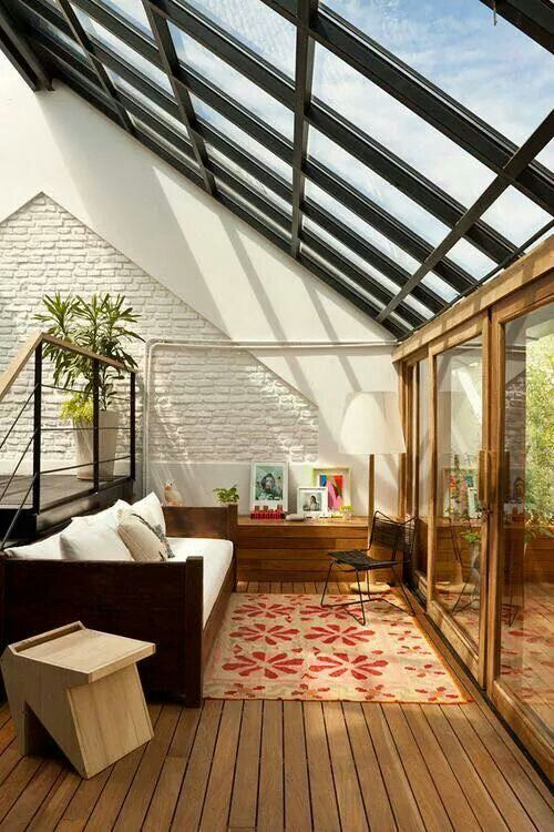 28 dreamy attic sunroom design ideas digsdigs Solarium designs