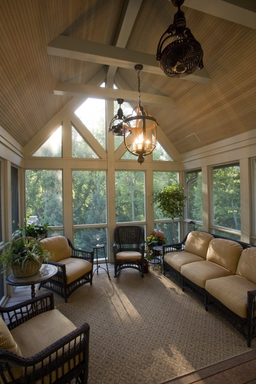 small attic ideas pinterest - 28 Dreamy Attic Sunroom Design Ideas DigsDigs