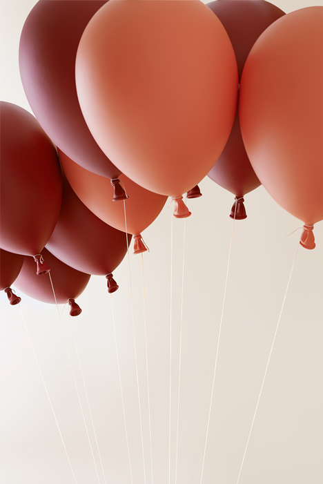 Dreamy Balloon Chair Creating An Illusion Of Flight