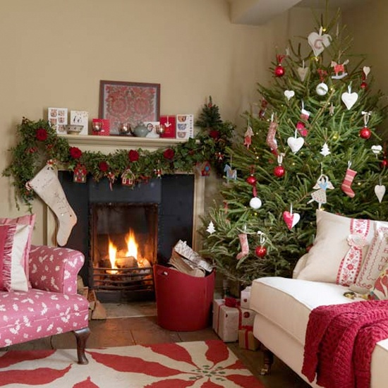 55 dreamy christmas living room d cor ideas digsdigs for Xmas room design
