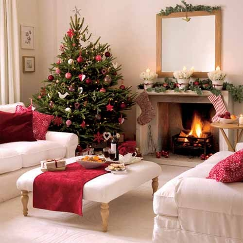 55 dreamy christmas living room d cor ideas digsdigs for Xmas living room ideas