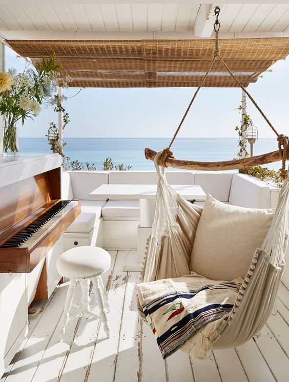 Picture Of dreamy mediterranean vacation home in white  1