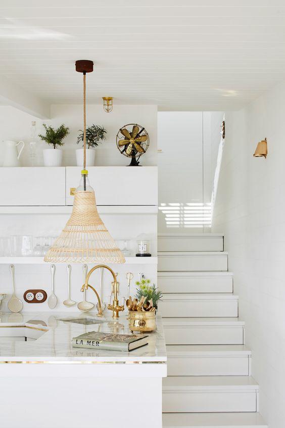 Dreamy Mediterranean Vacation Home Design In White - DigsDigs