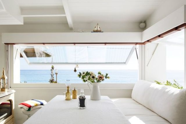 Picture Of dreamy mediterranean vacation home in white  4