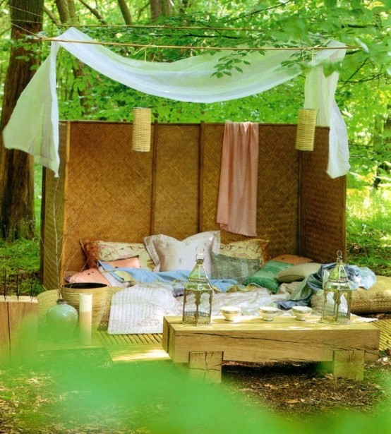 33 Canopy Beds And Canopy Ideas For Your Bedroom: 26 Dreamy Outdoor Bedroom Oasis Designs
