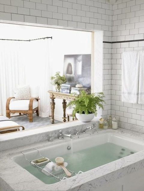 48 Dreamy Sunken Bathtubs To Relax In Digsdigs