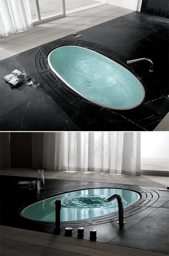 Dreamy Sunken Bathtubs To Relax In