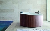 Dressage Bathroom Collection Of Wood And Corian