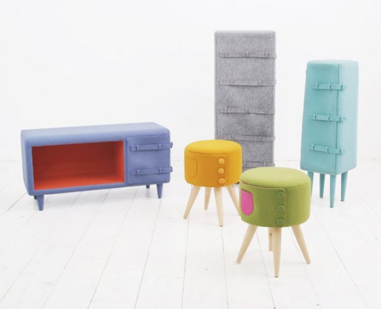 Creative and Cozy Dressed Up Furniture