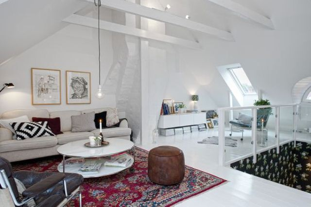 Duplex Interior With A Scandinavian Feel