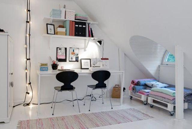 Duplex Interior With A Scandinavian Feel