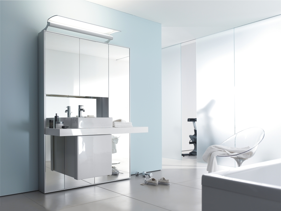 Mirrowall - Mirror Wall System from Duravit - DigsDigs