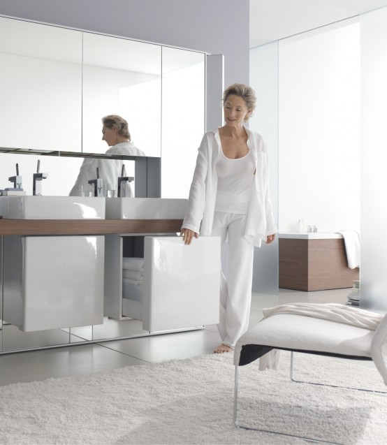 Mirrowall – Mirror Wall System from Duravit