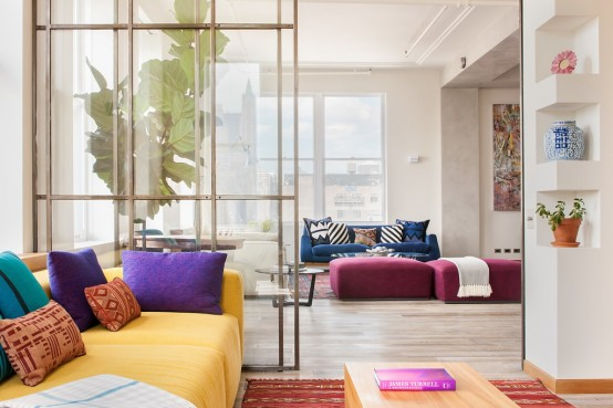 Dynamic Broadway Loft With An Architectural Vibe