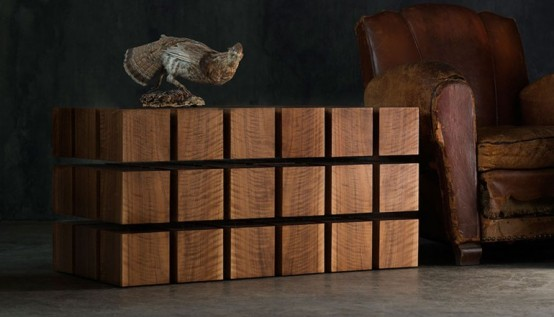 Dynamic Float Table Inspired By The Rubik's Cube