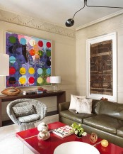 Dynamic Spanish Home With Bursts Of Colors And Patterns