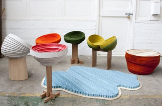 Funny Furniture In Vivid Colors To Raise Your Spirits