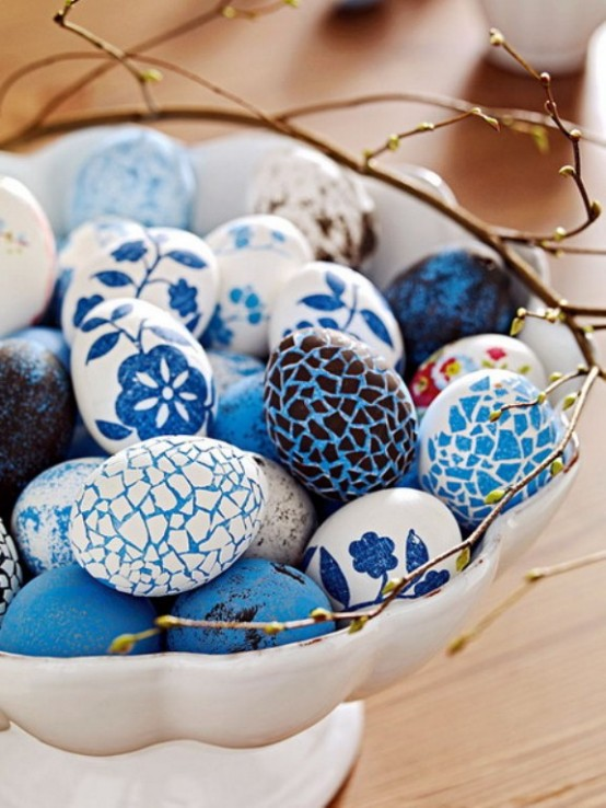 15 Decor Ideas Of Easter In Blue