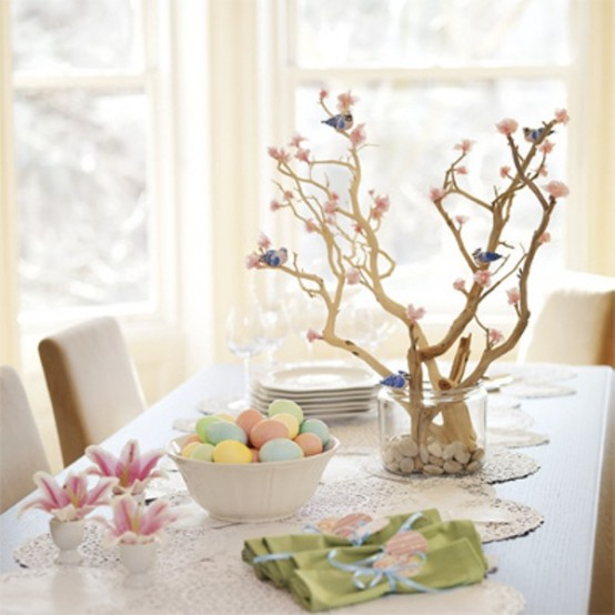 Seasons Of Home Easy Decorating Ideas For Spring: 40 Easter Table Décor Ideas To Make This Family Holiday