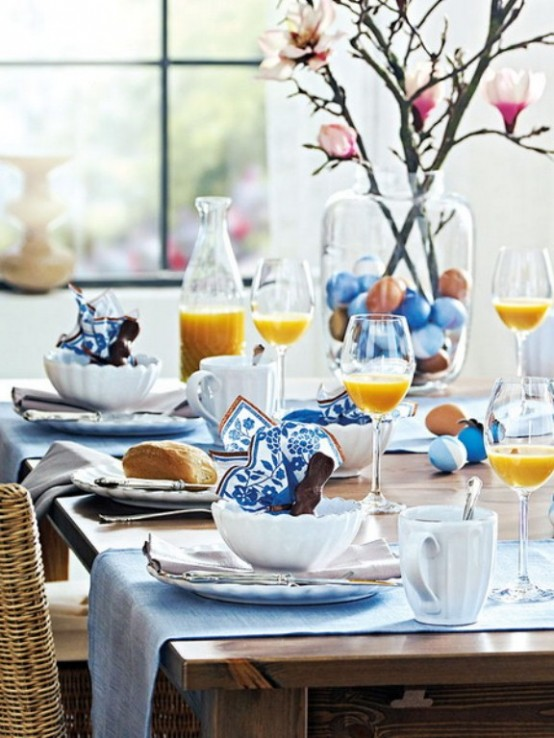 40 Easter Table Dcor Ideas To Make This Family Holiday Special