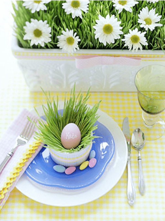 40 easter table d cor ideas to make this family holiday special digsdigs. Black Bedroom Furniture Sets. Home Design Ideas