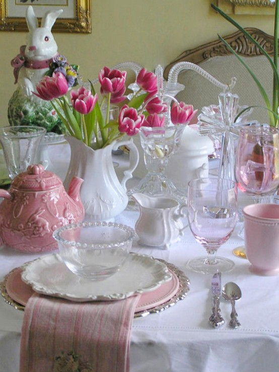 Easter Table Decor & 40 Easter Table Décor Ideas To Make This Family Holiday Special ...