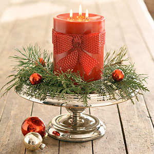 Picture Of easy holiday candles decor  4