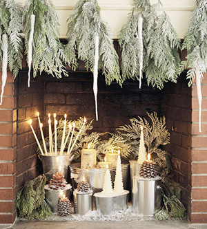 Picture Of easy holiday candles decor  6