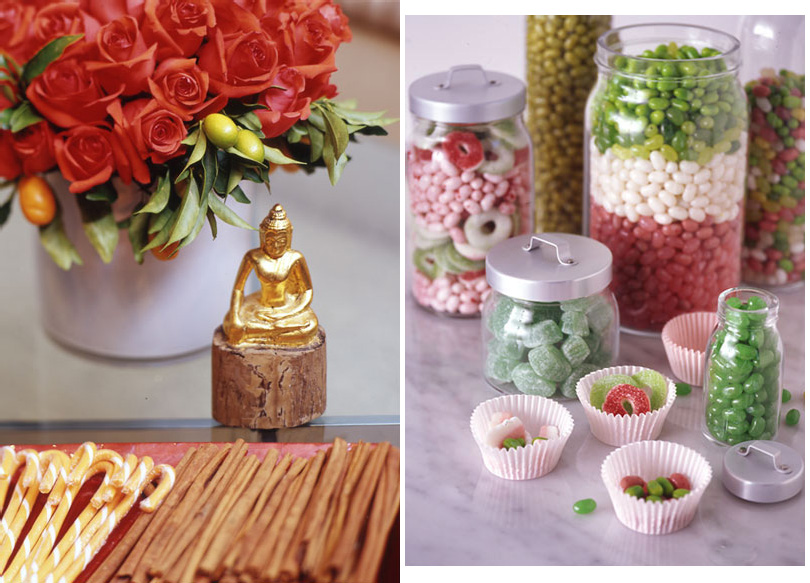 Flowers & tasty holiday decorations