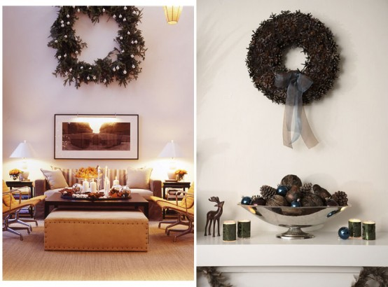 Holiday wall decorations