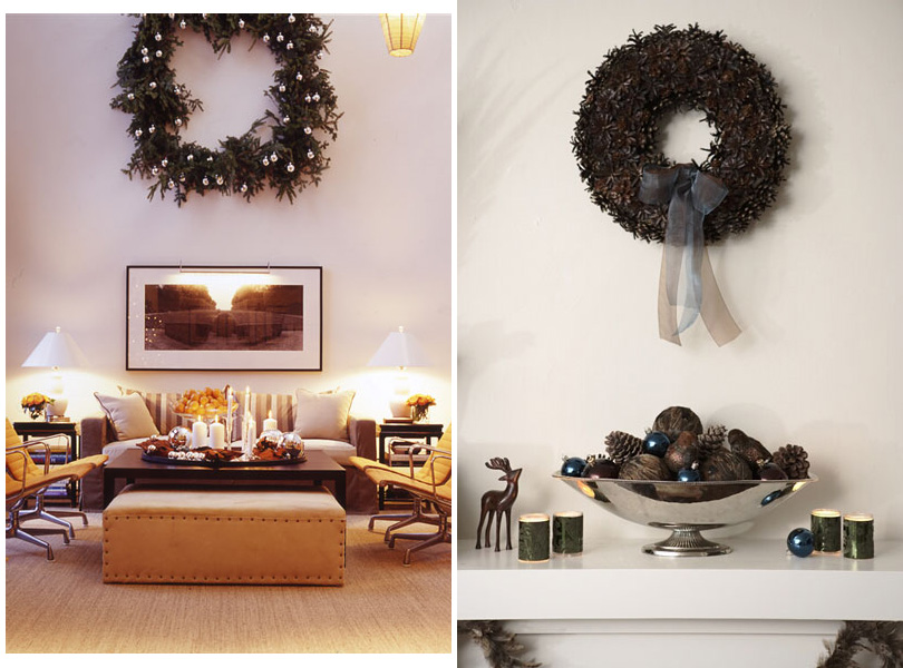 easy holiday decorations wall