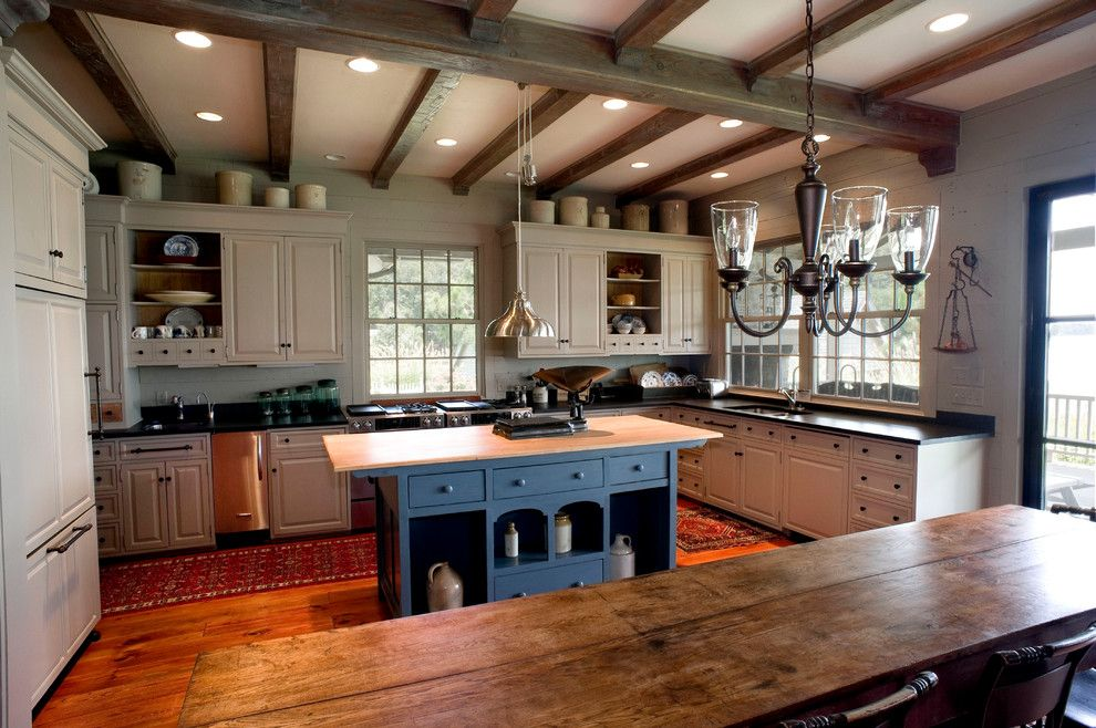 Picture of easy tips for creating a farmhouse kitchen 16 for Modern country kitchen designs