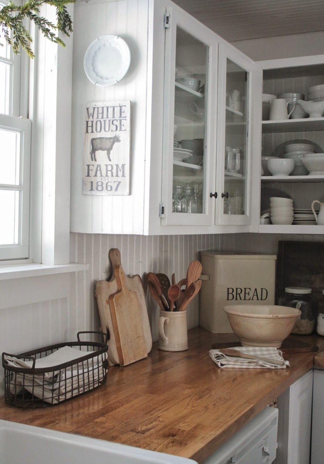 Picture Of easy tips for creating a farmhouse kitchen  18
