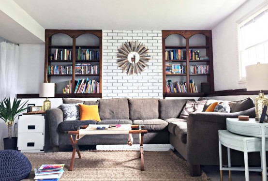 Eclectic And Cozy Virginia Home Decorated By Its Owners