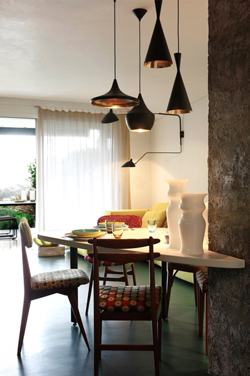 Eclectic Apartment Design Inspired By Jungles