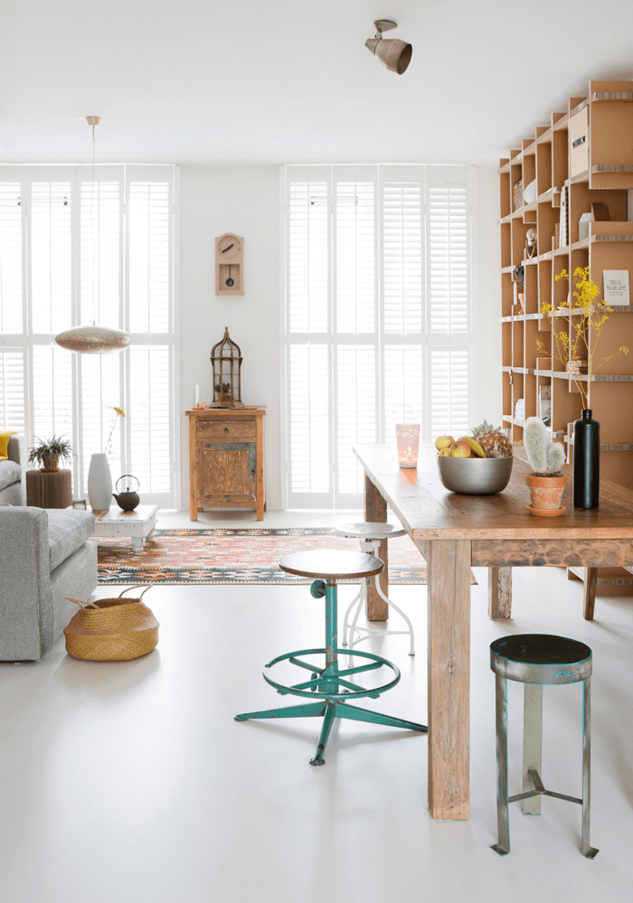Eclectic Dutch House Filled With Indian Furniture And Accessories