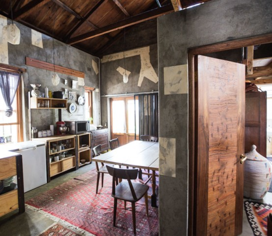 Eclectic Home With South African And Japanese Influences