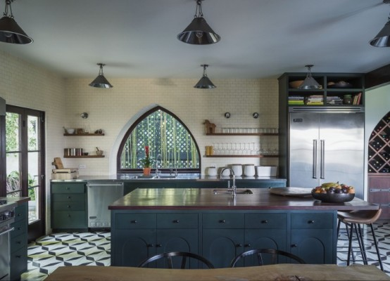 Eclectic Kitchen Design With A Timeless Sense Digsdigs