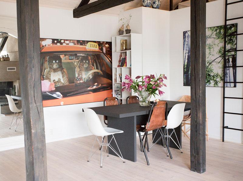 Eclectic Loft With A Scandinavian Feel In Norway