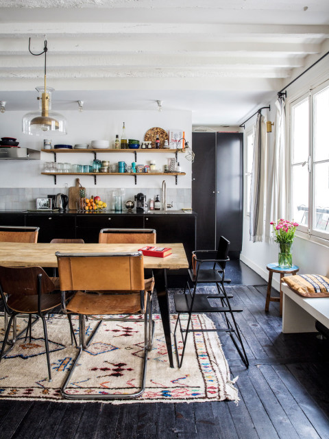 Eclectic Paris House With Lots Of Antique Finds