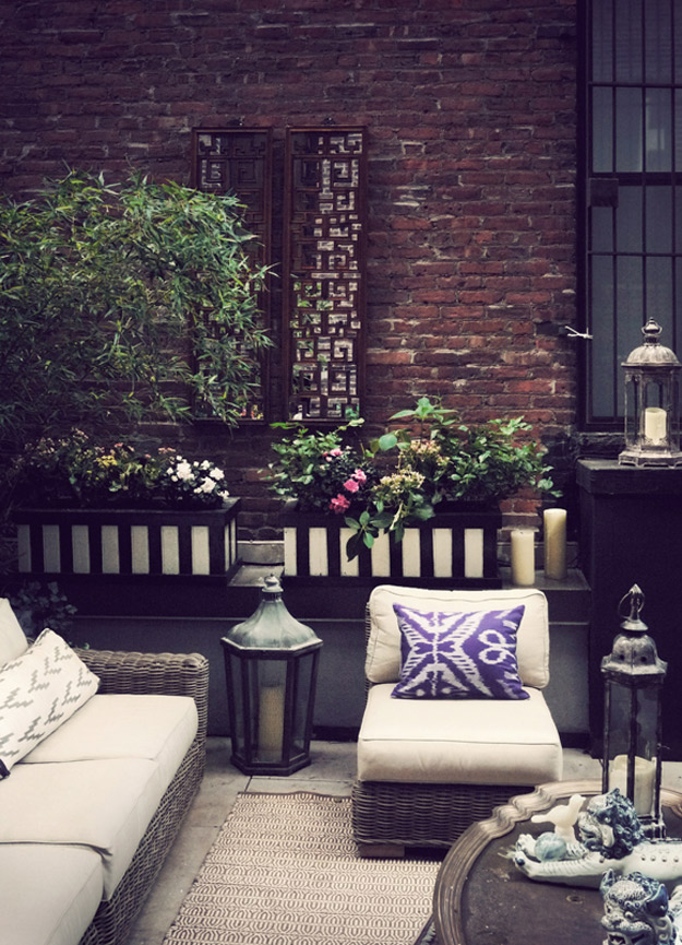 Eclectic Rooftop Oasis For Having A Good Time