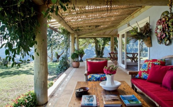 Eco And Ethnic Style House In Brazil