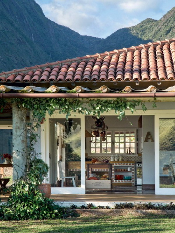 Eco And Ethnic Style House In Brazil DigsDigs