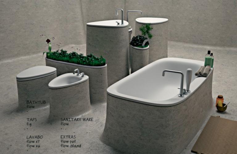 , Enchanting Bedroom Design Design Of Concrete  Great Bedroom Ideas  On Eco Friendly Bathroom Design Of Endless Concrete   DigsDigs: