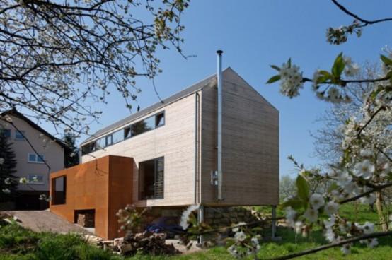 Eco Friendly Cherry Blossom House On A Modest Budget
